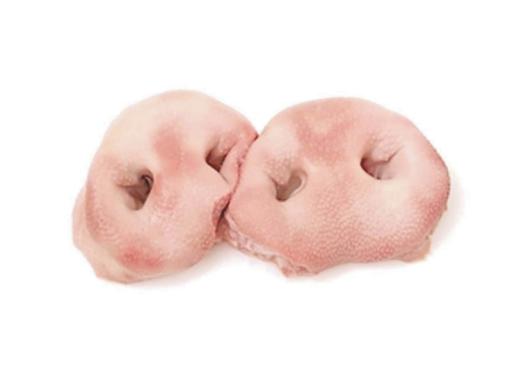 Pork nose