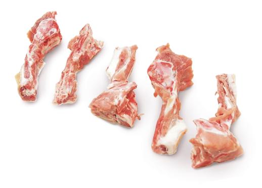 Pork tail bones